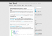 Building a Datafeed Site - Step 1 - Eric Nagel