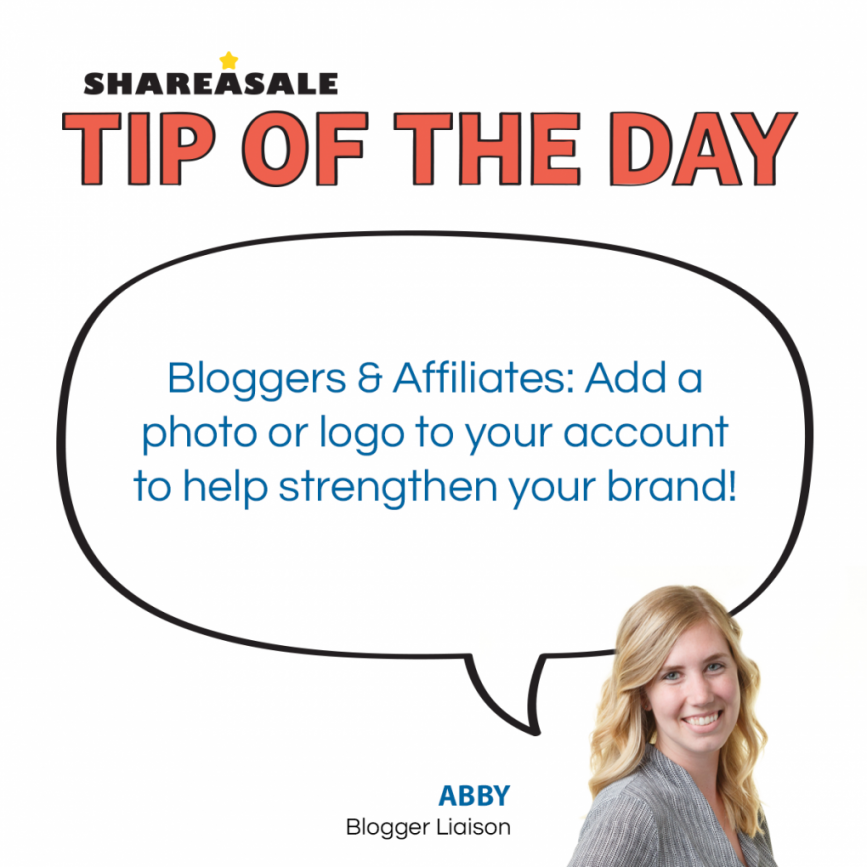 Tip of the Day: Affiliate Profile Images