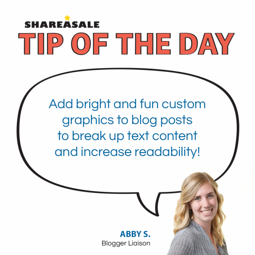 Tip of the Day: Use Fun Images to Engage Readers! - ShareASale Blog