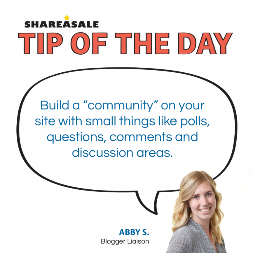 Tip of the Day: Increase Engagement - ShareASale Blog