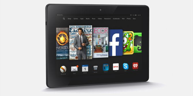 Much More Than A Kindle Is The Amazon Fire HDX 8.9