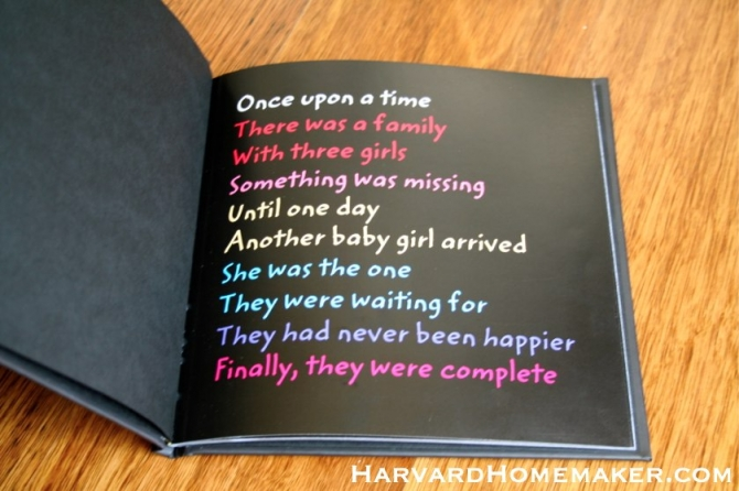 baby s first year photo book a special first birthday gift for your