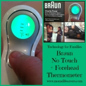 Braun No Touch + Forehead Thermometer - Mom's Lifesavers