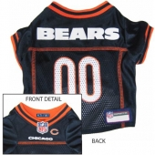 Chicago Bears Dog Jersey - Dog Collar Boutique