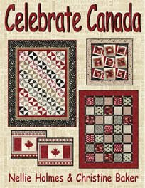 Celebrate Canada by Upper Canada Quiltworks Publishing