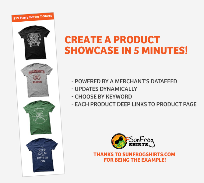Create A Product Showcase For Your Blog in 5 Minutes - ShareASale Blog