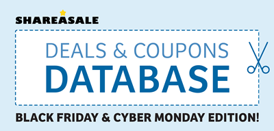 ShareASale Deals & Coupons Database