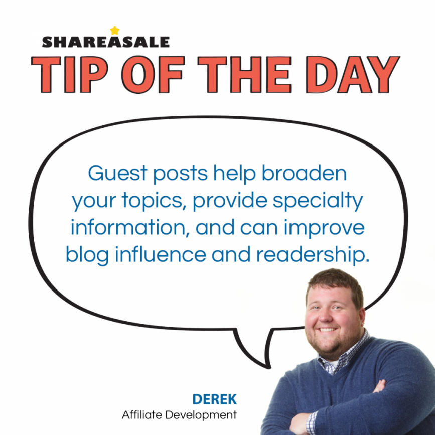Tip of the Day: Guest Posts