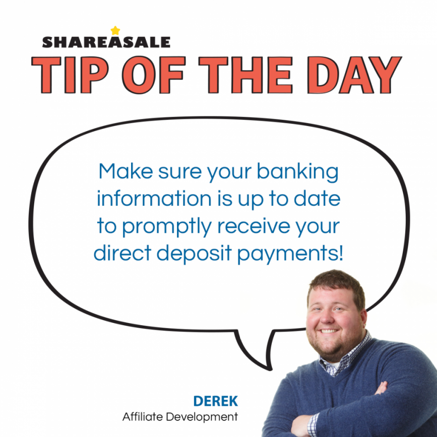 Tip of the Day: Payment Info