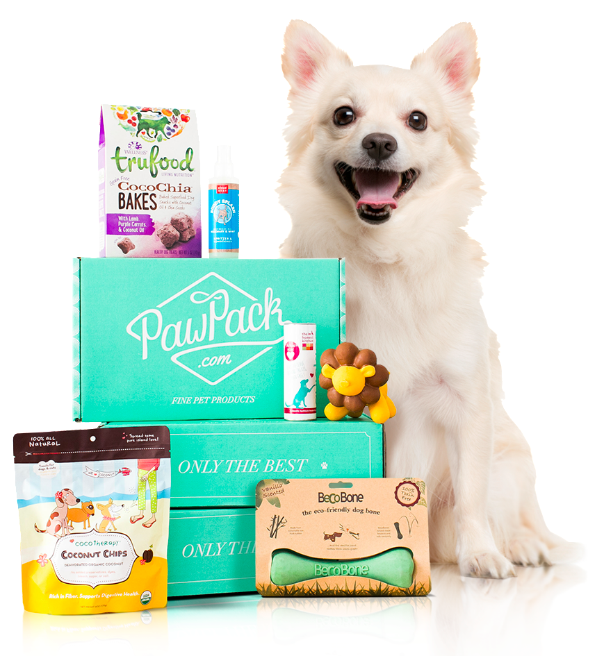 PawPack - Monthly Subscription Box for Dogs and Cats