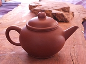 Yixing Round Dark Zuni Teapot | Generation Tea