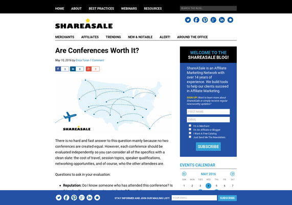 Are Conferences Worth It? - ShareASale Blog