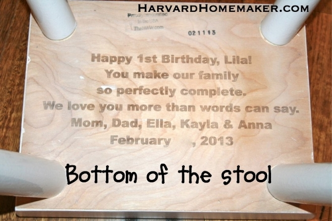 The Stool We Have