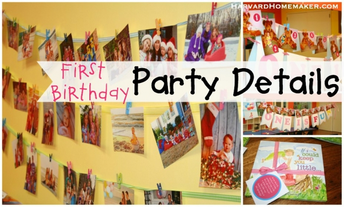 First birthday party ideas details decorations for 1st birthday party decoration