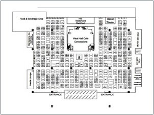 Exhibitor List & Exhibit Floorplan