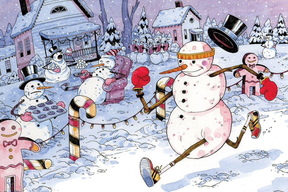 frosty 158871 o Christmas Carols for Runners