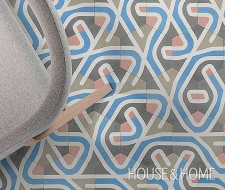 Beautiful Gaudi Inspired Tiles
