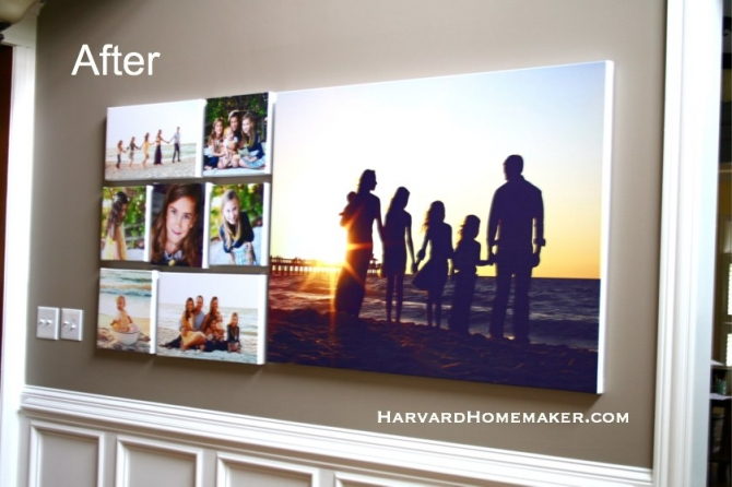Decorate With Family Photos And Hang A Wall Gallery With Ease   Harvard  Homemaker