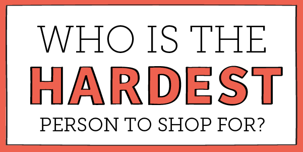 #FunFriday: Who is the hardest person to shop for?