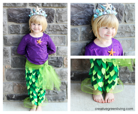 Mermaid Costume Tutorial - Creative Green Living