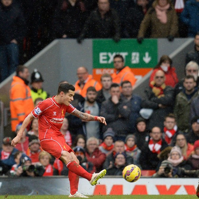 Coutinho And His Wonder Goal For Liverpool