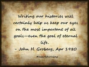 Genealogy Quotes - Hearts Turning