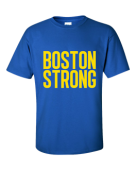 Customized: Boston Strong Royal T-Shirt