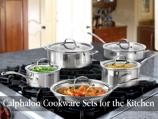 Cool Kitchen Stuff Calphalon Cookware Sets