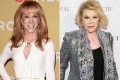 Kathy Griffin Is Reportedly Replacing Joan Rivers on 'Fashion Police'