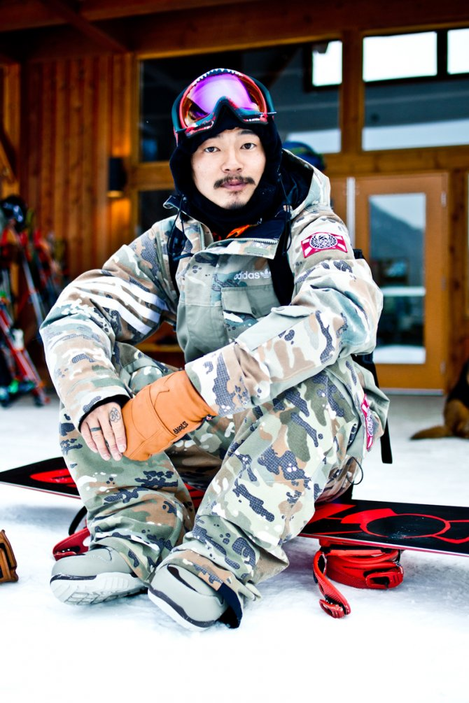 The Snowboarder Rider of the Year 2015