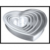 Heart Shaped Tier Cake Pans | The Chocolate Belles
