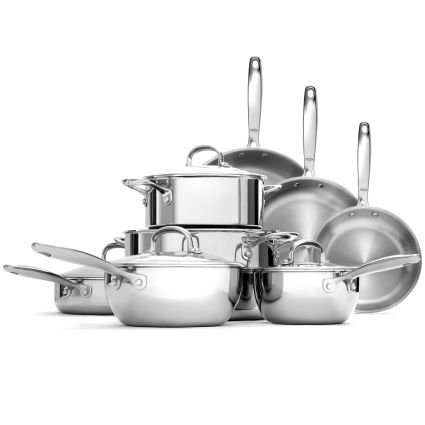 OXO Good Grips Stainless Steel Pro Tri-Ply 13-Piece Cookware Set | Sur La Table
