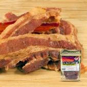 Jeff's Famous Real Bacon Jerky - Maple Brown Sugar | JerkySpot.com