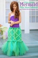 Mermaid Tutu Dress - The Hair Bow Company