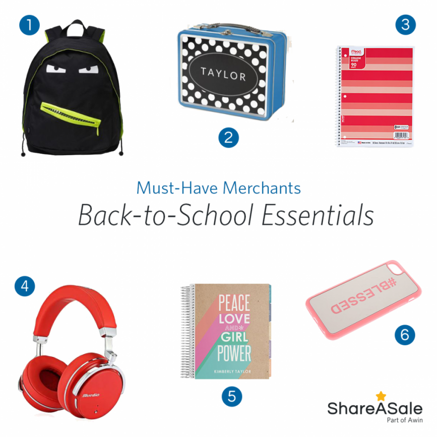 Must-Have Merchants: Back-to-School Essentials