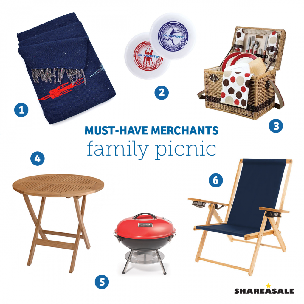 Must-Have-Merchants: Family Picnic - ShareASale Blog