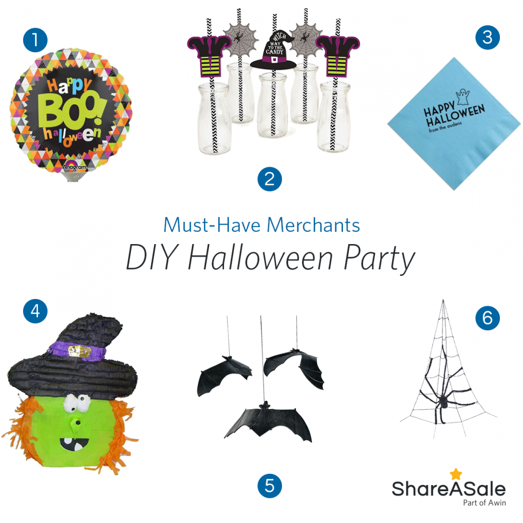 Must-Have Merchants: DIY Halloween Party