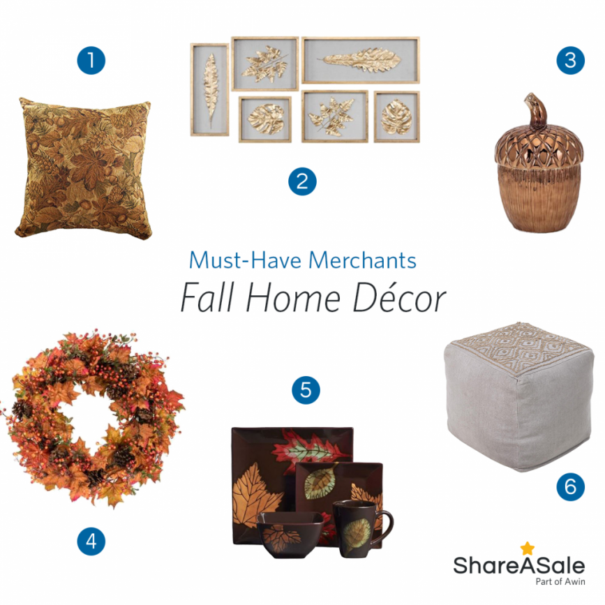 Must-Have Merchants: Fall Home Decor