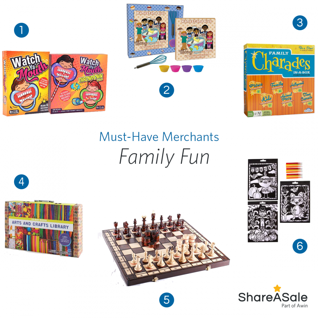 Must-Have Merchants: Family Fun
