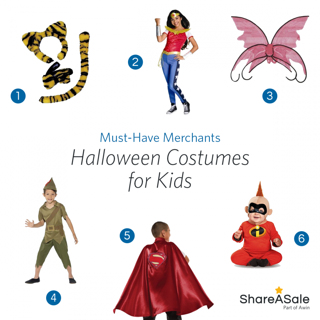 Must-Have Merchants: Halloween Costumes for Kids
