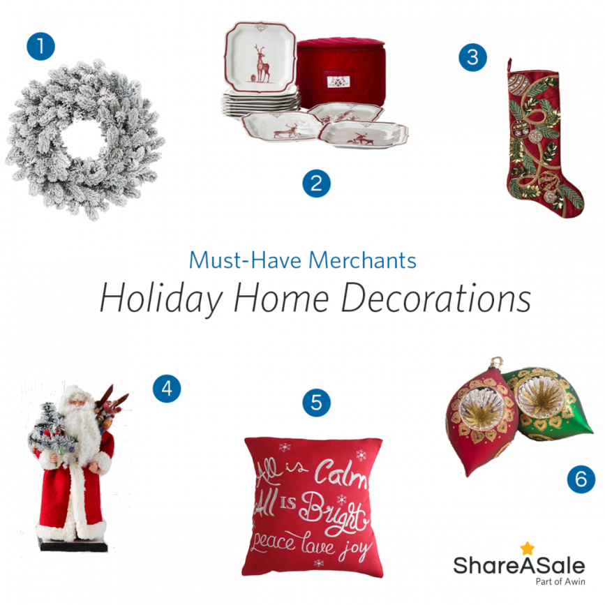 Must-Have Merchants: Holiday Home Decorations