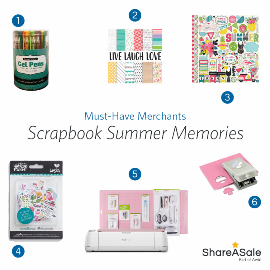 Must-Have Merchants: Scrapbook Your Summer Memories