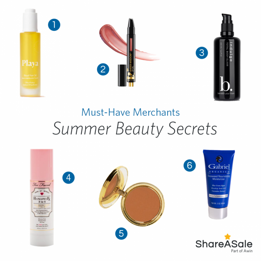 Must-Have Merchants: Summer Beauty Secrets