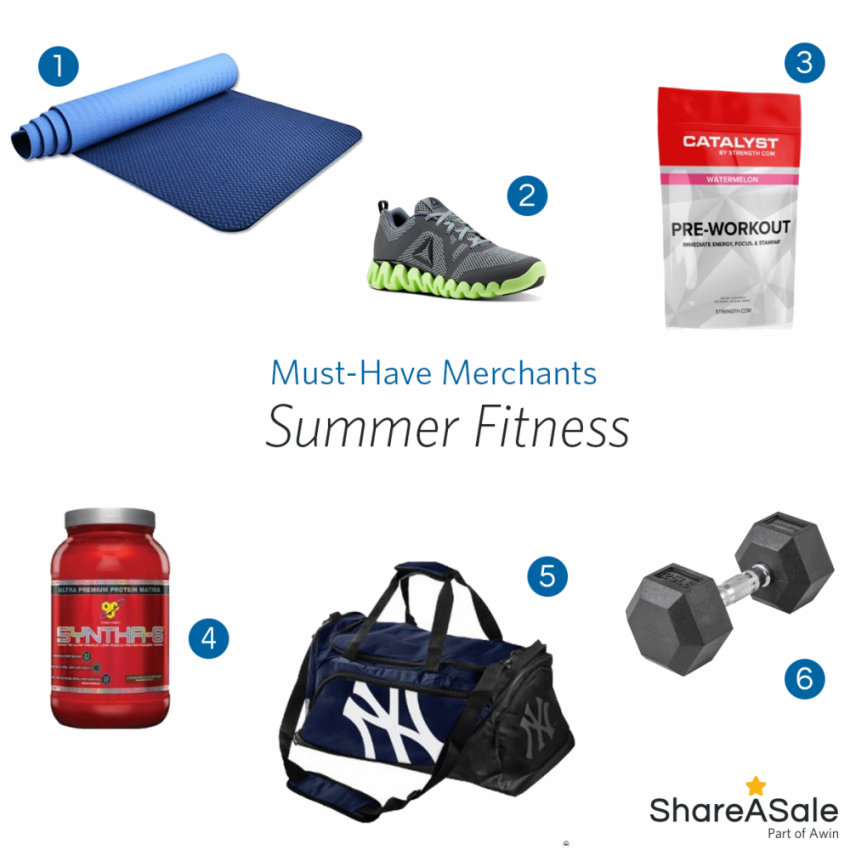 Must-Have Merchants: Summer Fitness