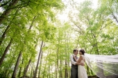 Park Wedding in Indiana: Amy and Cameron