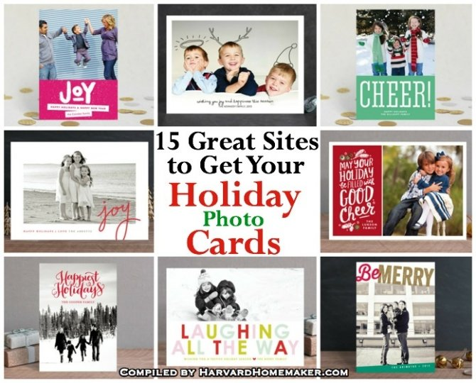 15 Great Sites to Get Your Holiday Photo Cards