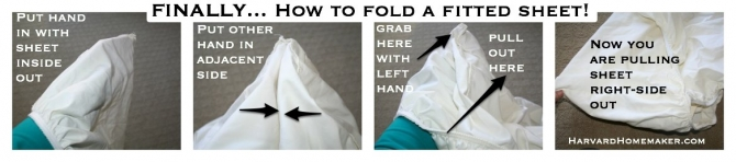 keep matching sheet sets together by wrapping in more misplaced pillowcases once you master folding the fitted - How To Fold Fitted Sheets