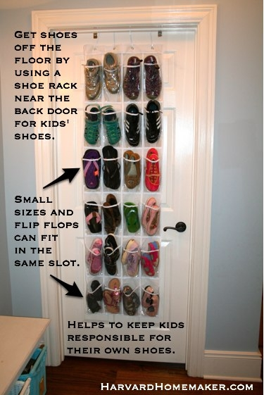 And It S Better Than Tripping Over A Pile Of Shoes On The Floor If By Back Door You Re Usually Only One Who Sees Anyhow