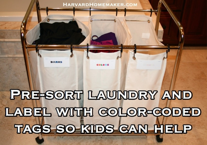 Even Non Reading Kids Can Sort Their Laundry Correctly To Help You, And  Theyu0027ll Feel So Proud To Put Things In The Right Slot!