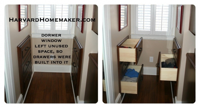 Beau Make Use Of Wasted Space Behind A Wall By Building In Drawers Or Shelving